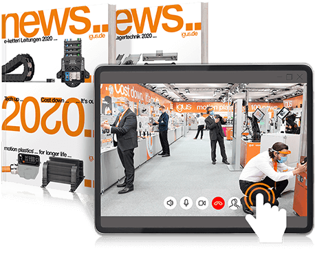 News und virtual trade show stand
