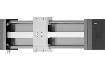 drylin® ZLW-1080S linear axis with toothed belt drive