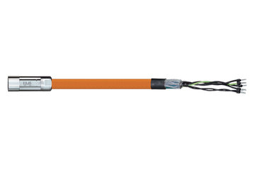 readycable® motor cable suitable for Parker iMOK43, base cable PVC 15 x d