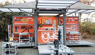 igus on-site exhibition