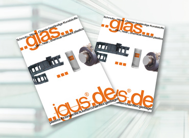 Brochure for the glass industry